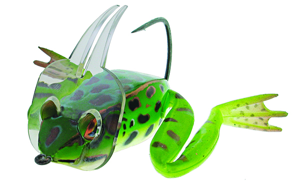 3//0 Swimming Frog Diver Green//Yellow