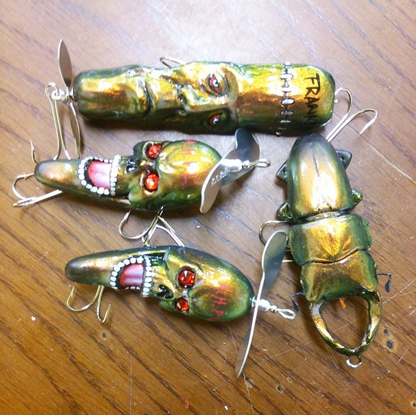 10 crazy lure designs you have to see to believe for Homemade fishing lures