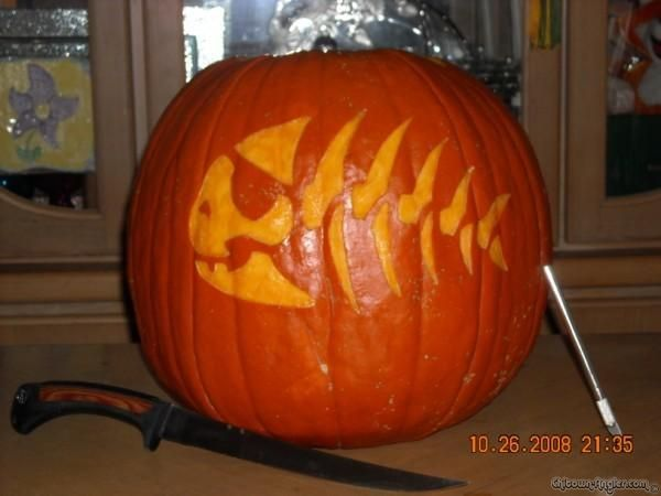15 Quot Fishing Quot Pumpkin Carvings You Have To See To Believe