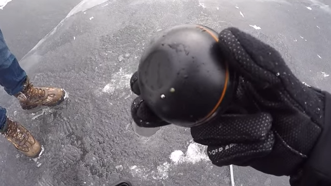 deeper ice fishing