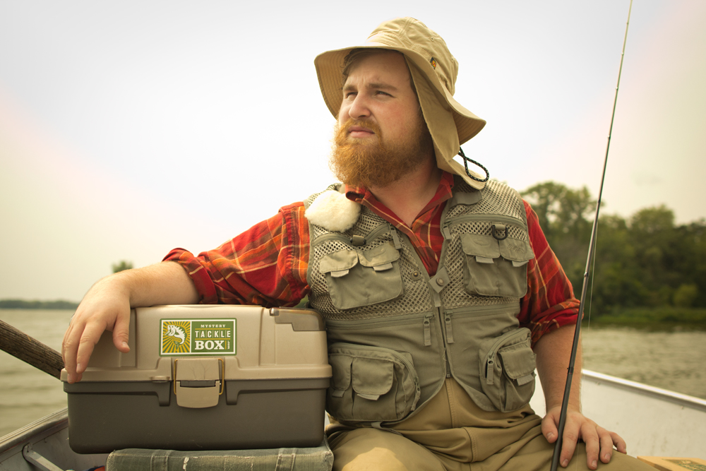 The 11 types of fisherman you 39 ll meet at every lake for Fishing mystery box
