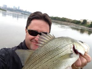 white bass fishing