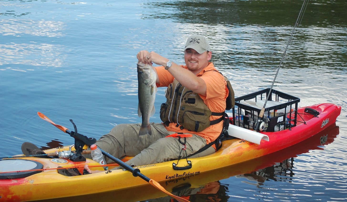 Kayak fishing 7 tips to become a better kayak angler for Best canoe for fishing