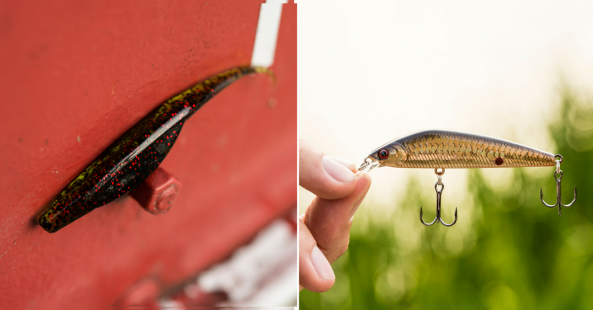 Fishing soft bodied jerkbaits vs hard bodied jerkbaits for Hard and soft fishing