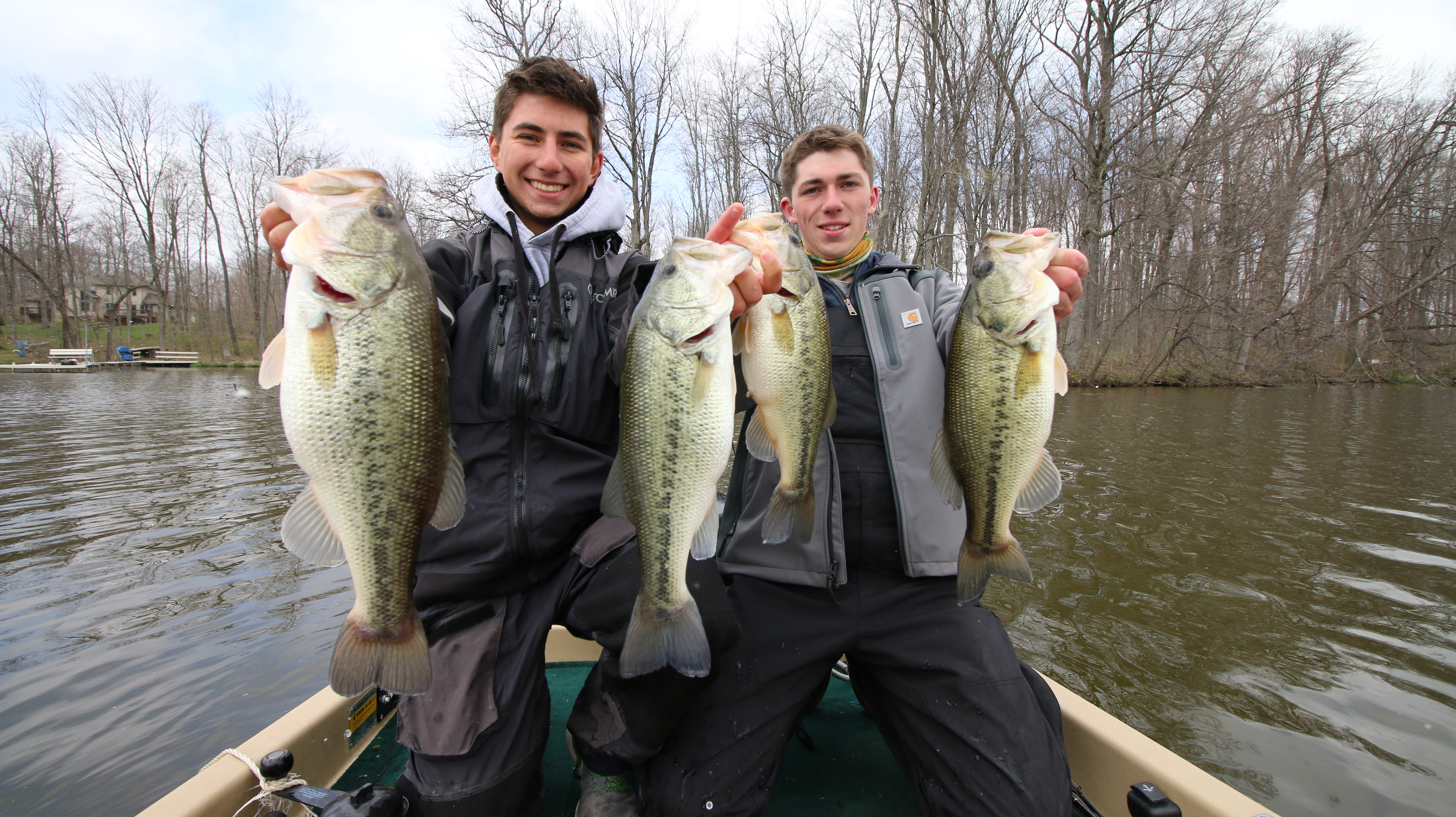 Your complete winter fishing guide for Bass fishing in winter