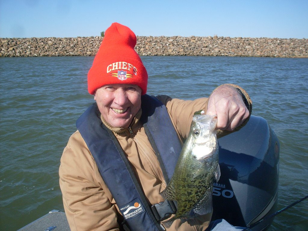 Winter Crappie Fishing