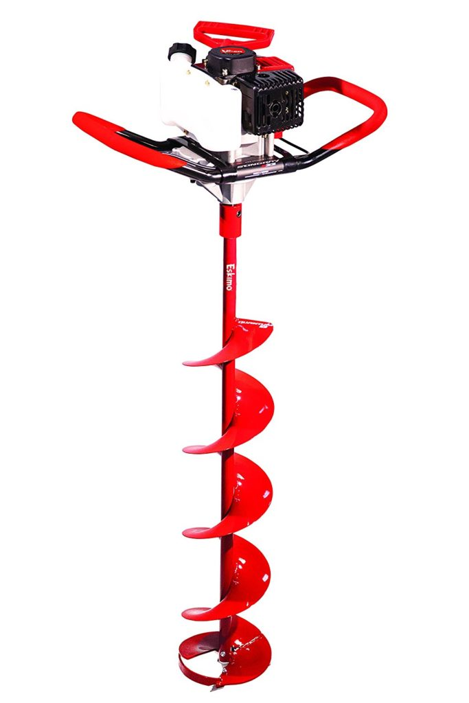 ice fishing gear big auger