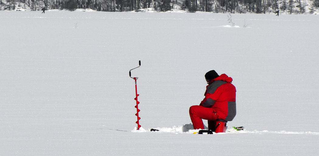 Ice fishing safety tips for fishing hard water this winter for Ice fishing tip up parts