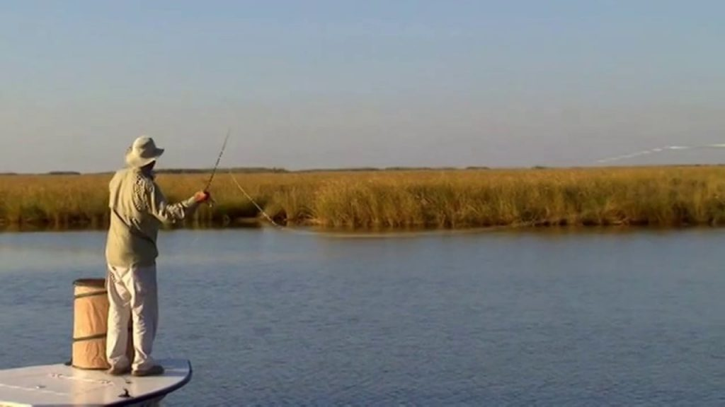 louisiana-bayou-redfish-fishing