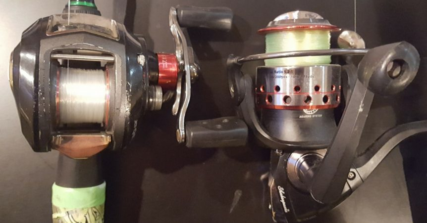 When to use a spinning vs baitcasting reel explained for Best fishing line for bass baitcaster