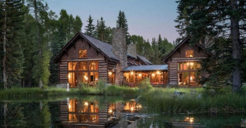 jackson hole fishing cabin