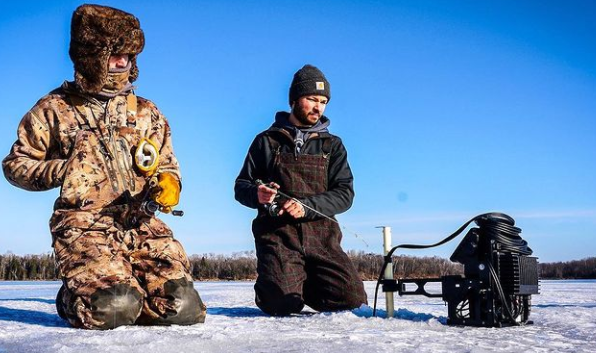 Wisconsin Early Ice Fishing 2020