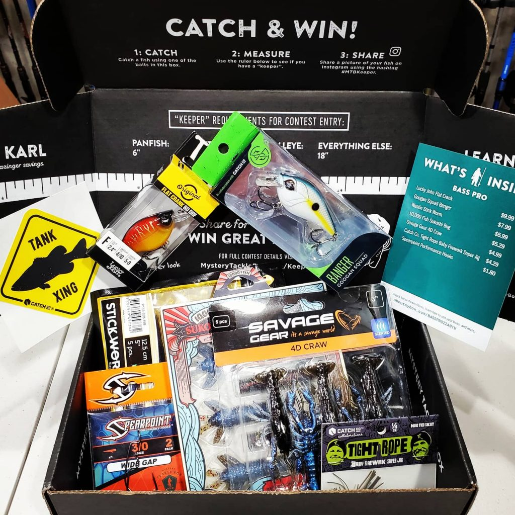 Mystery Tackle Box Unboxing June 2021