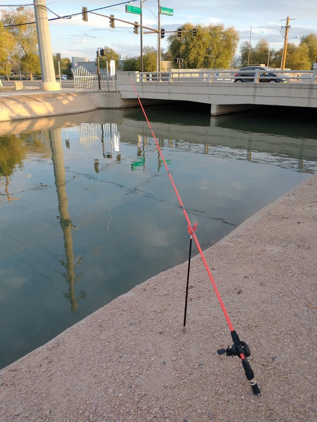 Fishing With Live Worms