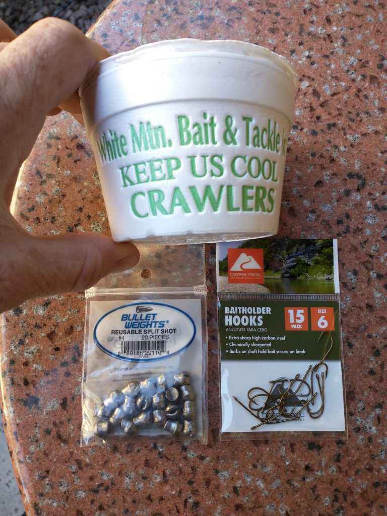 nightcrawlers for carp fishing