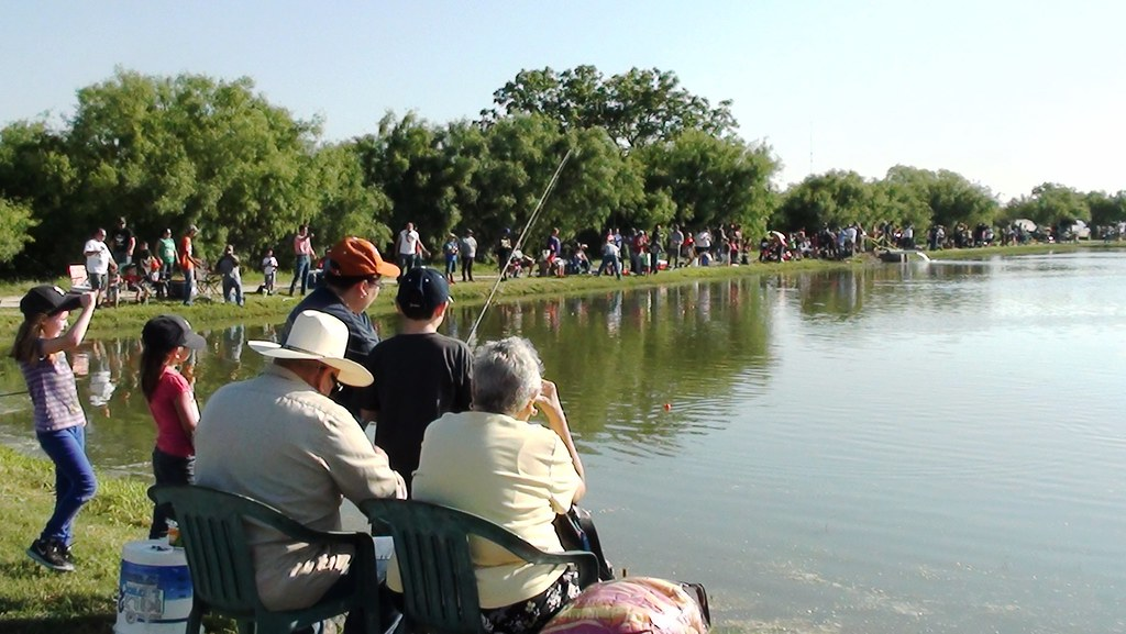 Fishing In A Crowd